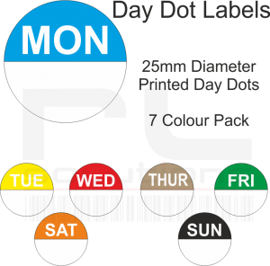 Day Dot Labels
