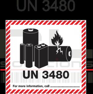 UN 3480 Labels